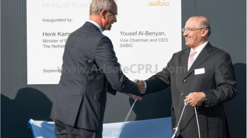 Sabic inaugurated pilot PP in Geleen, the Netherlands