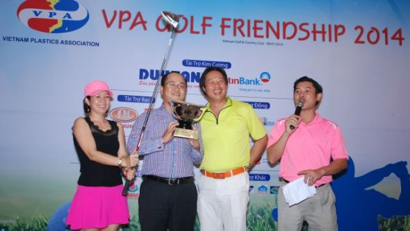 Giai VPA Golf Friendship Lan 1