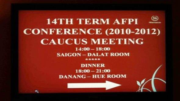 14th Term AFPI Conference Caucus meeting
